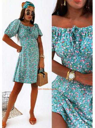 Платье летнее из штапеля
