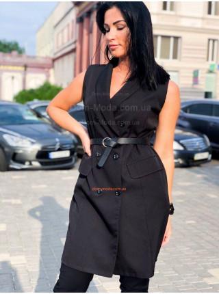 Женское платье пиджак без рукав