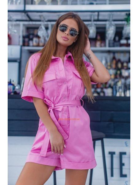 Жіночий літній комбінезон із шортами