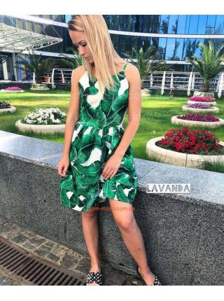 Стильное короткое платье туника для полных девушек