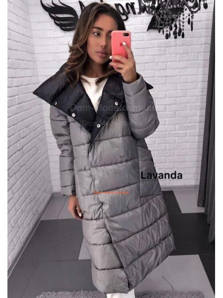 Стильное зимние двухстороннее пальто