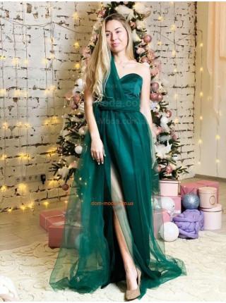 Жіноче вечірнє максі плаття трансформер
