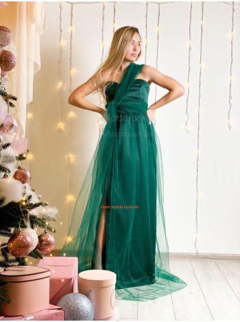 Женское вечернее макси платье трансформер