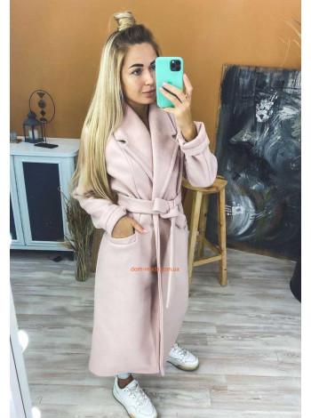 Модне кашемірове пальто без підкладки