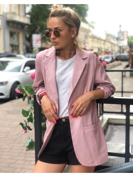 Стильный льняной женский пиджак