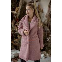 Жіноча штучна шуба пальто з овчини