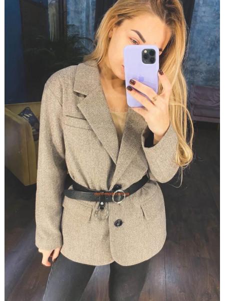 Шерстяний піджак жіночий