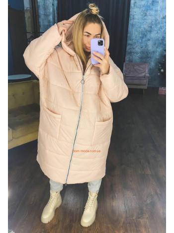 Зимняя куртка оверсайз