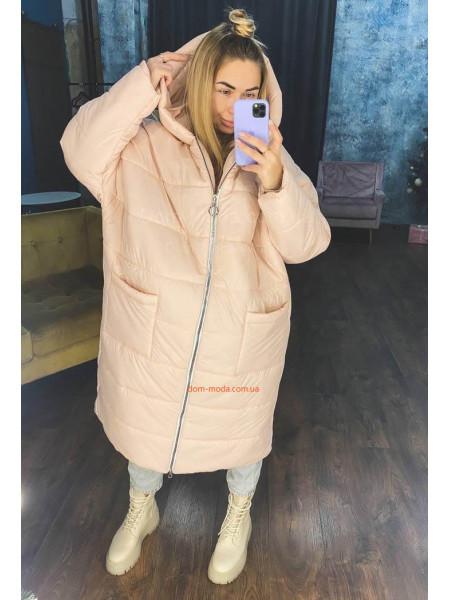 Зимова куртка оверсайз