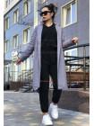 Жіноче кашемірове пальто на підкладці