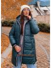 Зимняя женская куртка с капюшоном
