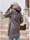 Зимова жіноча куртка з капюшоном