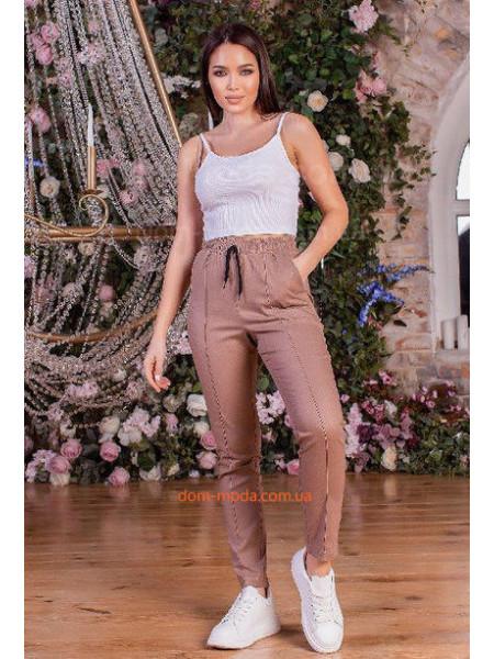 Льняные брюки женские