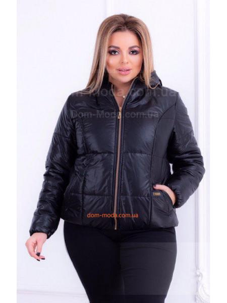 33bb4276583352 Коротка демісезонна куртка великого розміру Коротка демісезонна куртка  великого розміру КУПИТИ ОНЛАЙН