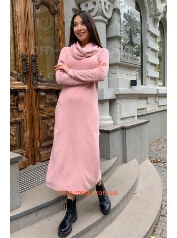 Жіноче плаття з коміром хомутом