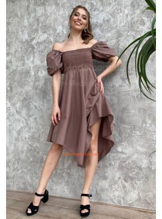 Літнє плаття з завищеною талією