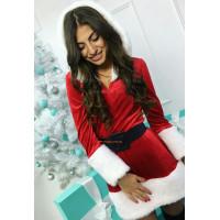 Новогоднее платье снегурочки