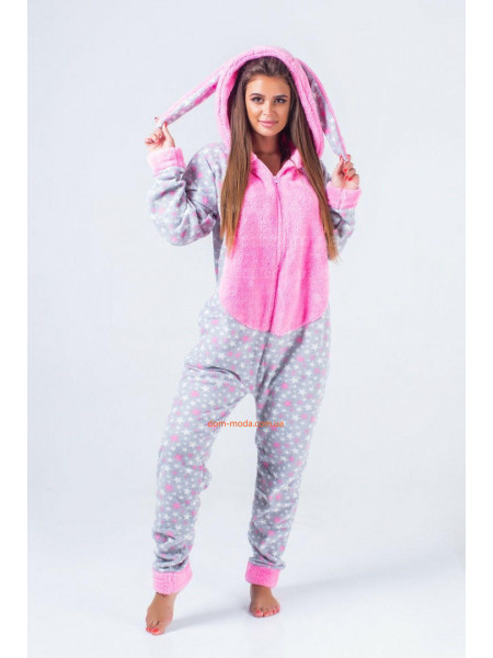 Женская пижама комбинезон кигуруми
