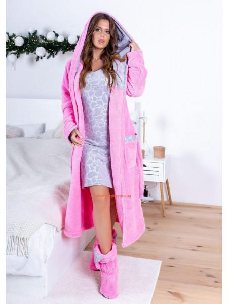 Набор ночнушка и халат