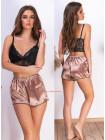 Жіноча літня піжама топ і шорти