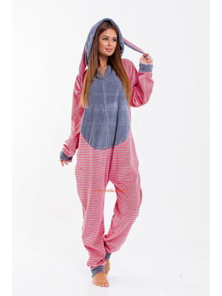 Пижама комбинезон женская