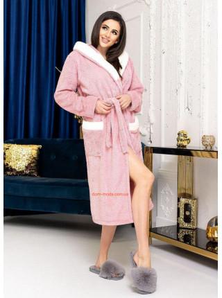 Жіночий махровий халат