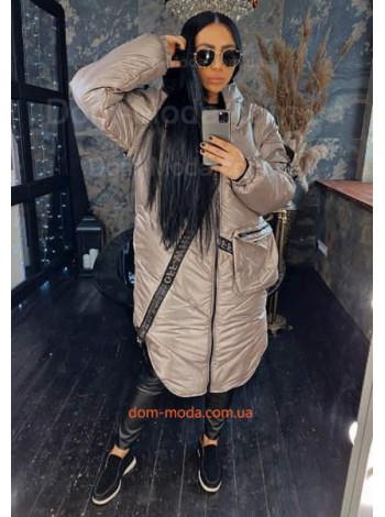 Зимова жіноча куртка трансформер