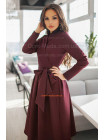 Коротка сукня халат у діловому стилі