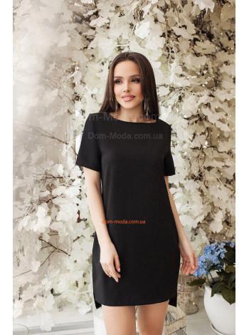 Женское платье туника со шлейфом