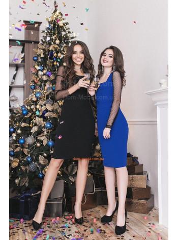 """Женское короткое платье с длинным рукавом """"Альба"""""""
