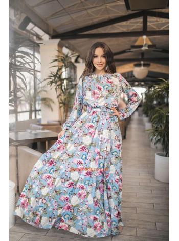 """Жіноче модне плаття в підлогу """"Сад"""""""