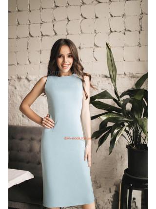 Летнее деловое платье футляр для девушек