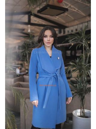 Кашемировое пальто для полных девушек
