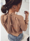 Блузка з бантом на спині