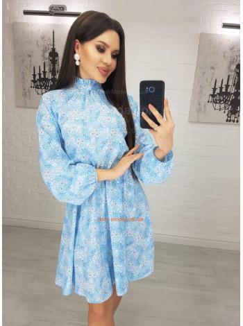 """Модное платье в цветочек """"Дарья"""""""