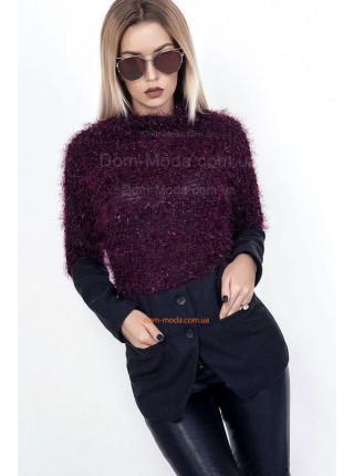 Оригинальная женская кофта пиджак