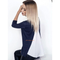Модная женская кофта с блузкой