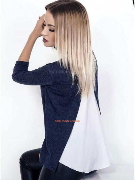 Модна жіноча кофта з блузкою