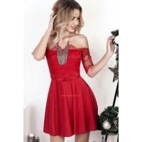 Вечернее платье в стиле беби долл