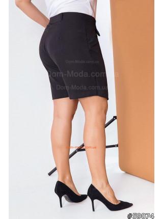 Модна спідниця шорти для повних жінок