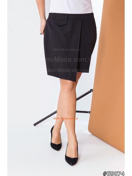 Модная юбка шорты для полных женщин