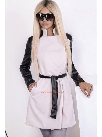 """Женское кашемировое пальто с поясом """"Регине"""""""