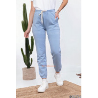 Спортивные трикотажные брюки женские
