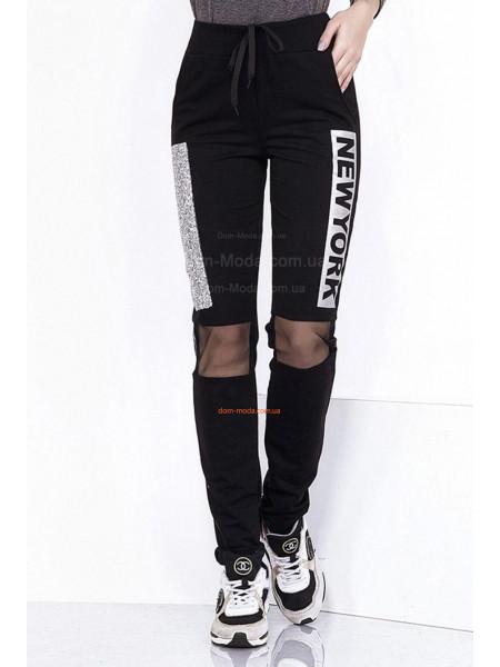 Модные женские спортивные брюки