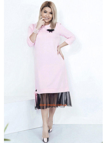"""Женское стильное платье super size """"Нимфа"""""""