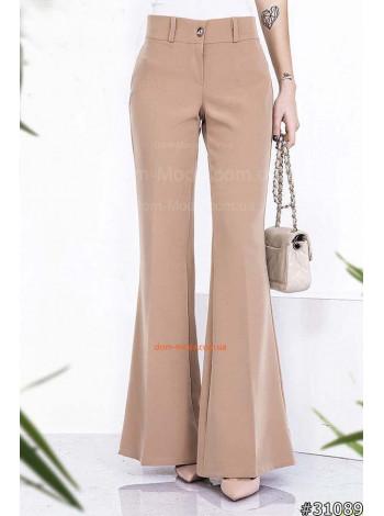 Модные брюки клёш для женщин