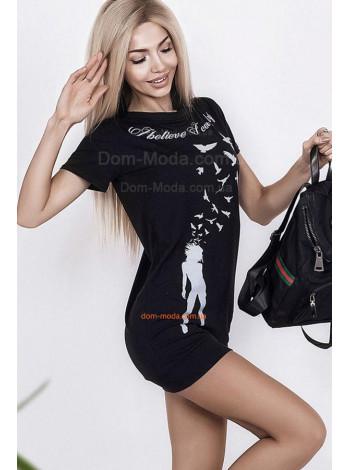 Спортивне плаття туніка з написом