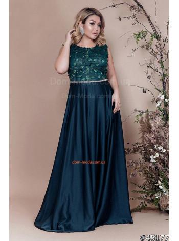"""Женское вечернее платье большого размера """"Дива"""""""
