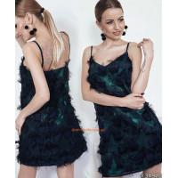 Платье нарядное мини