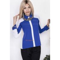 """Жіноча стильна блузка великого розміру """"Ельвіра"""""""